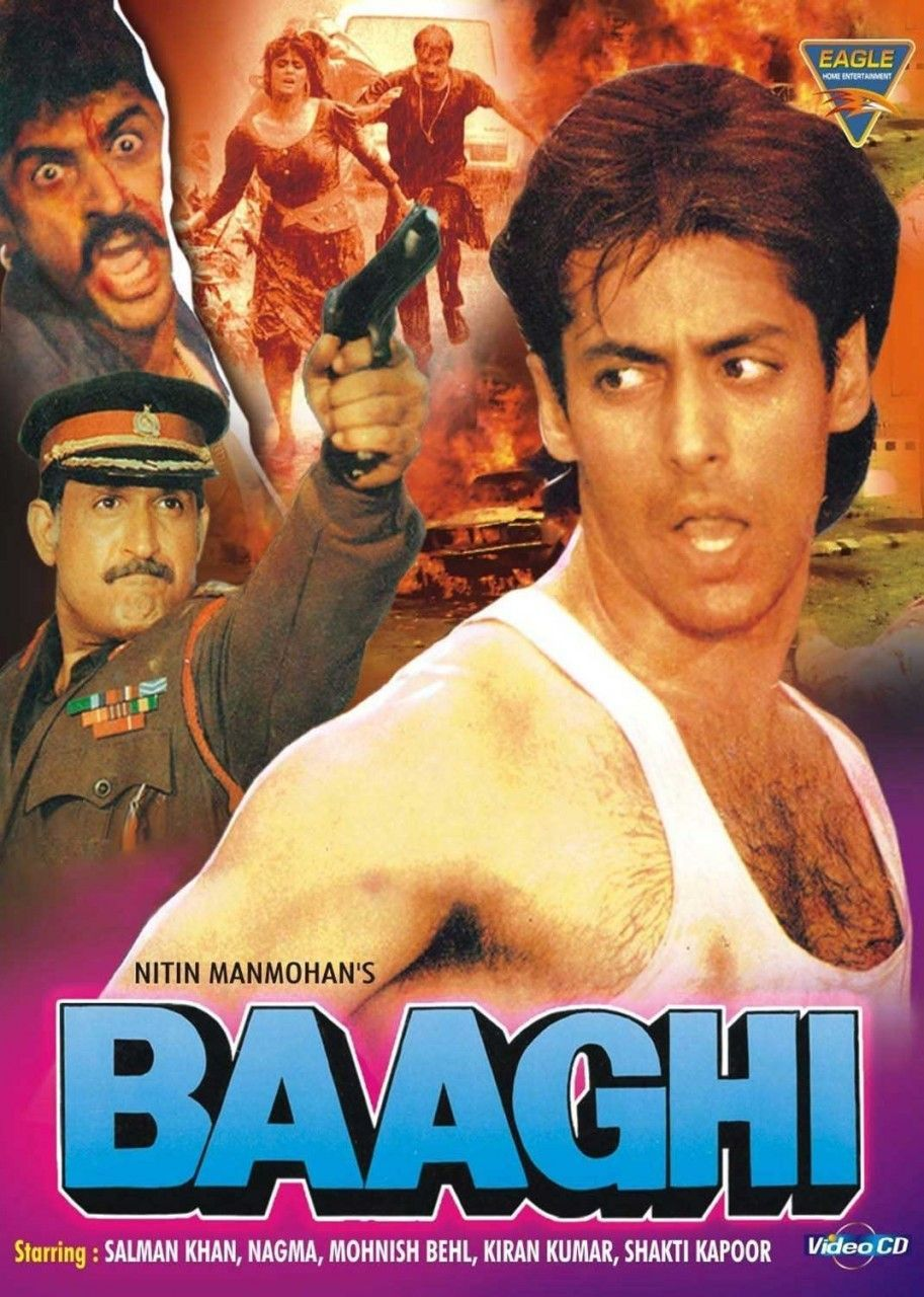 Baaghi 1990 Best Bollywood Movies 1990 Movies Streaming Movies