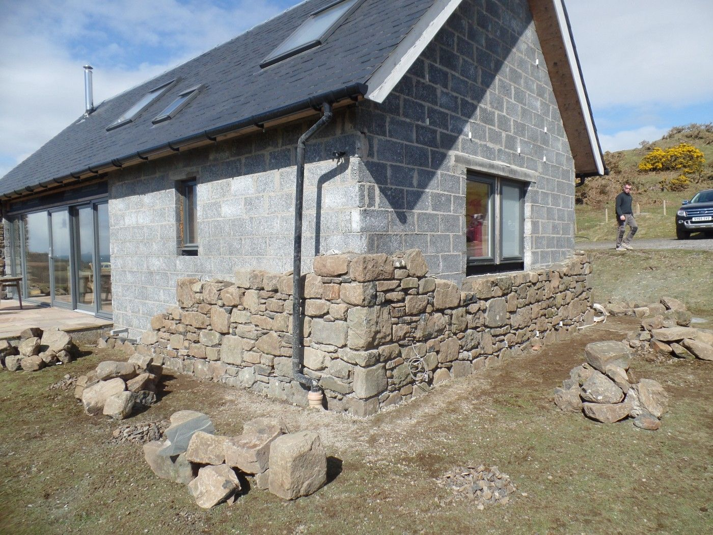 Image result for how to build a stone cottage