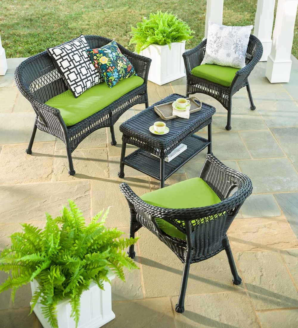 Easy Care Resin Wicker Furniture Outdoor Furniture Covers Large Outdoor Furniture Outdoor Furniture