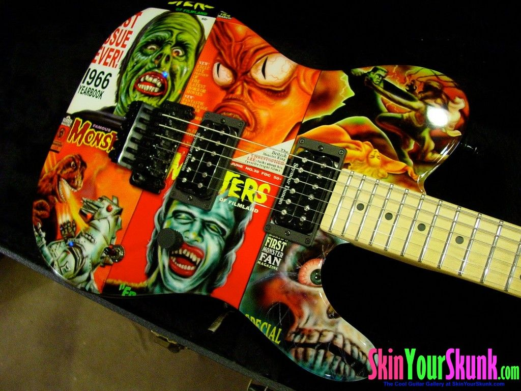 Cool Guitar Gallery Guitar Art Pinterest Guitars Guitar Art - Custom vinyl guitar decals
