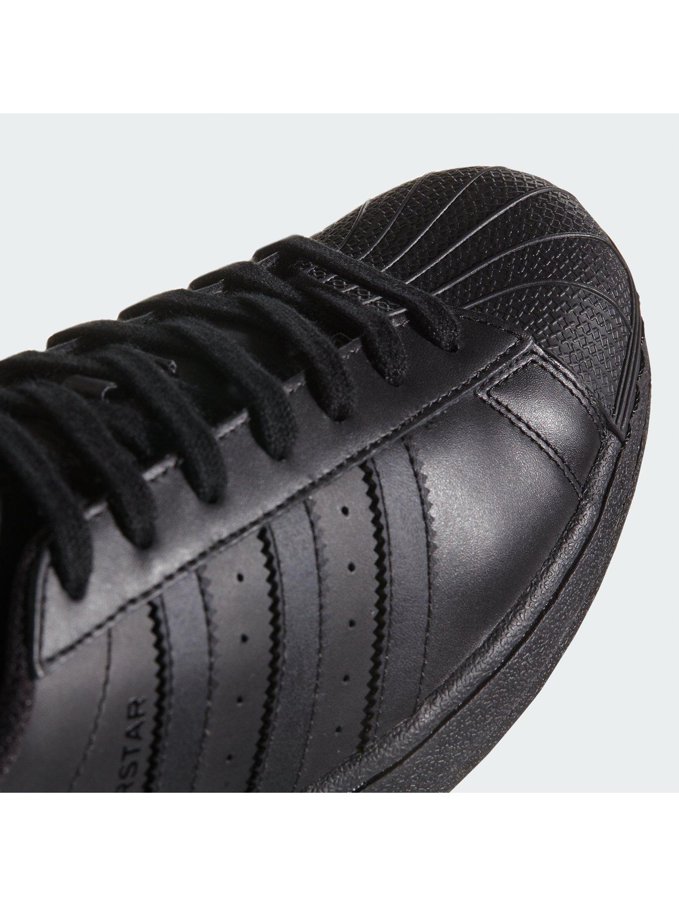 Adidas Originals Superstar Foundation Trainers Black