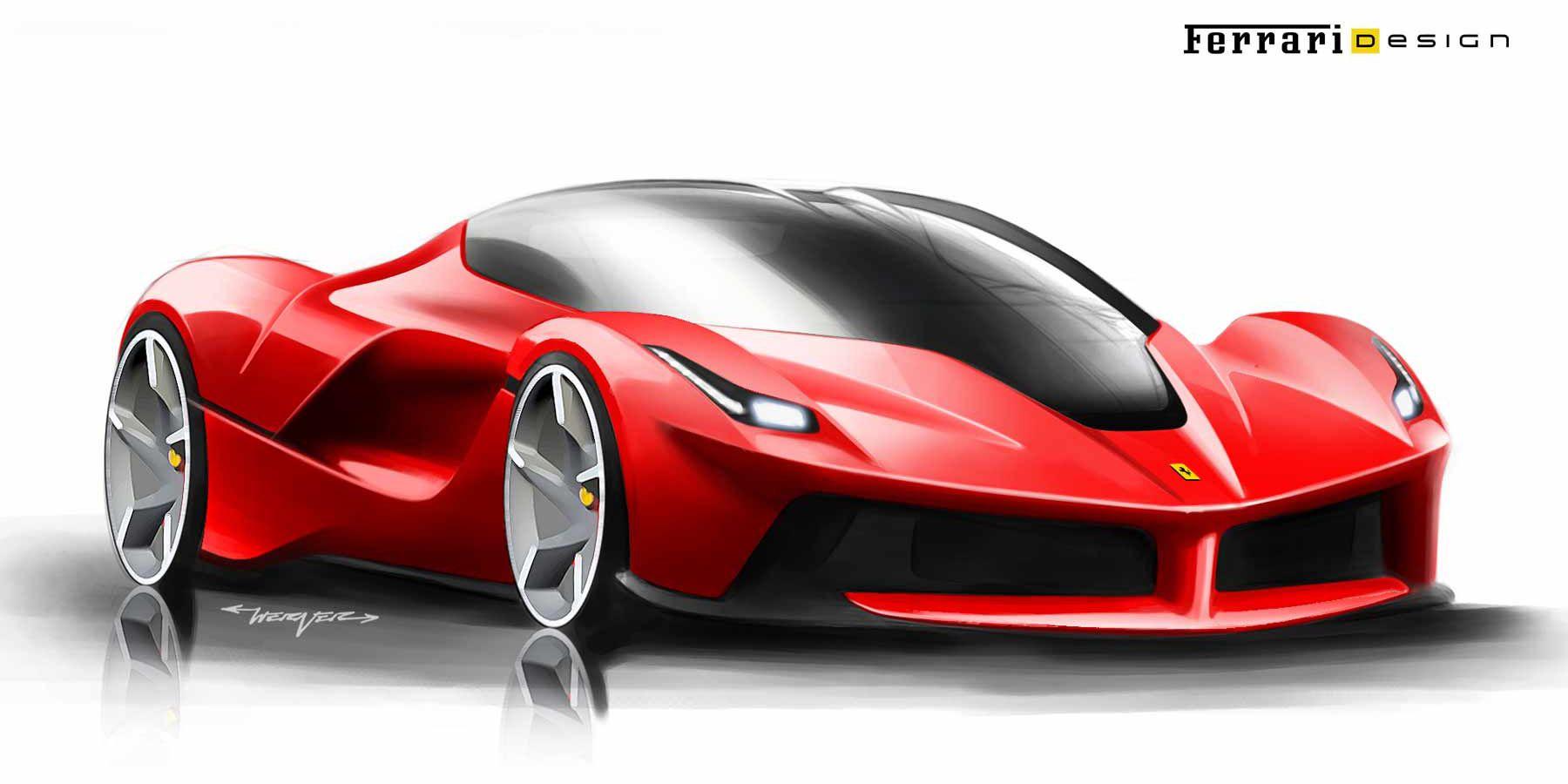 Ferrari Design Sketches Google Search Race Car Super Car