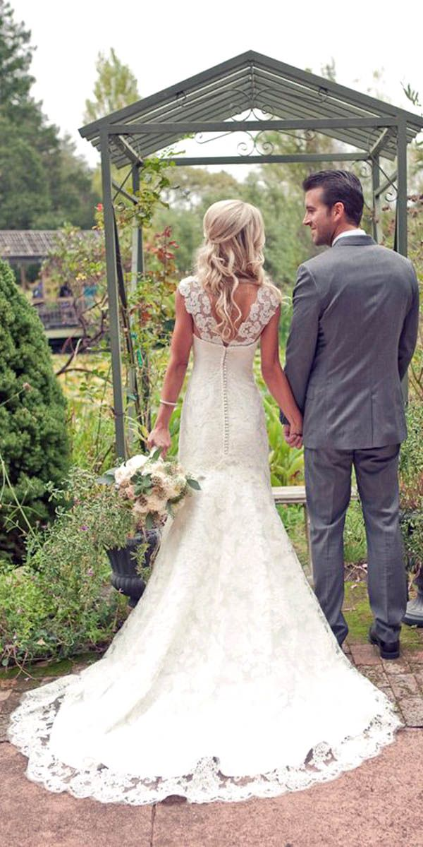 Country Style Wedding Dresses Inspiration (With images