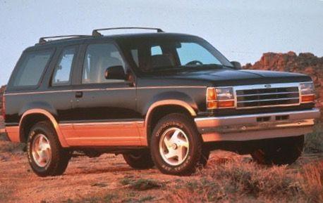 1991 2 Door Ford Explorer Ford Explorer Ford Ford Motor Company