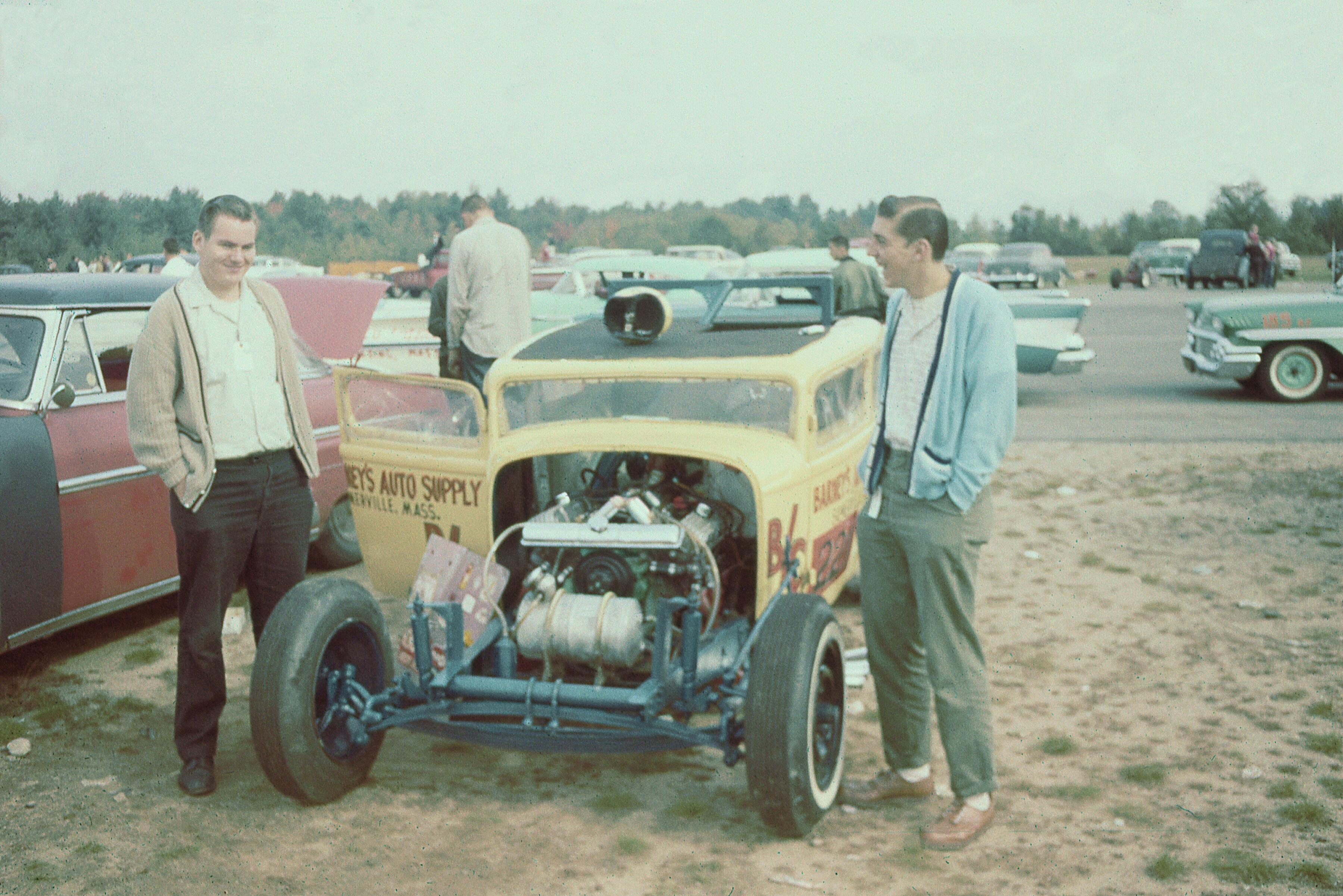 Dragway in Sanford, Maine, 1961   Drag Racing - then and now   Pinterest