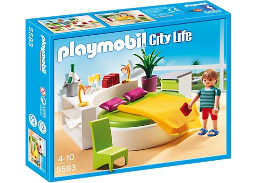 Slaapkamer met loungebed - PLAYMOBIL® Nederland   Playmobil luxe ...