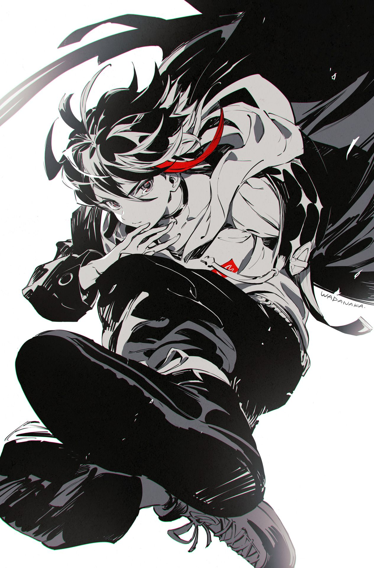 wadanaka 三枝明那くんにじさんじ Vtuber 2019 Anime, Anime art