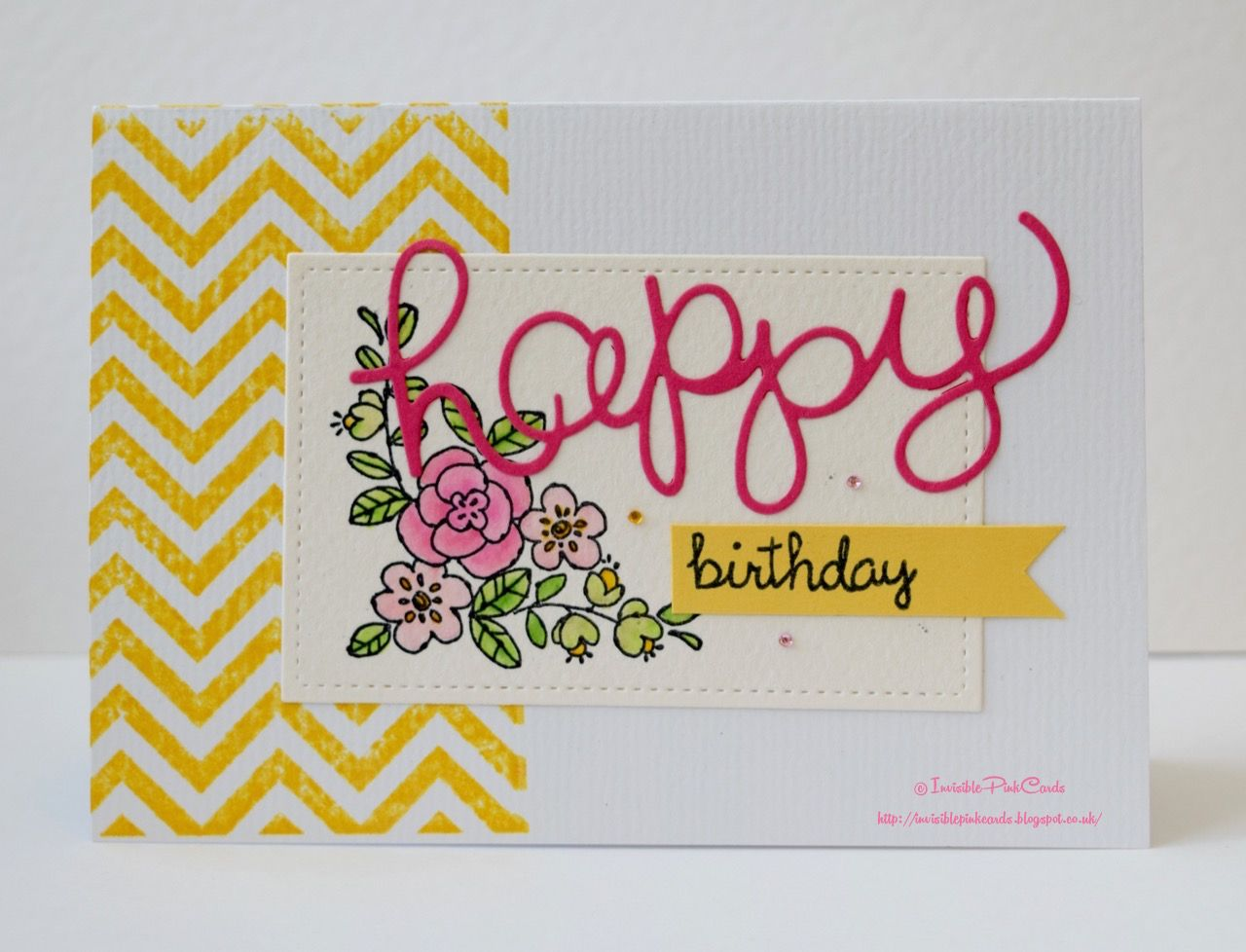 Invisiblepinkcards Happy 2nd Birthday To Fusion Challenge Cards