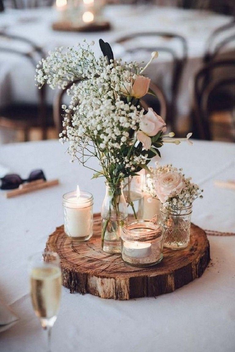 10+ Gorgeous DIY Wedding Decoration on a Budget Ideas | Unique wedding  receptions, Rustic wedding centerpieces, Wedding table decorations