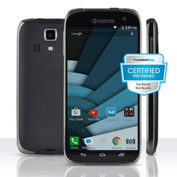 100% Free Phone Service w/ Kyocera Hydro Icon 100% Free Talk