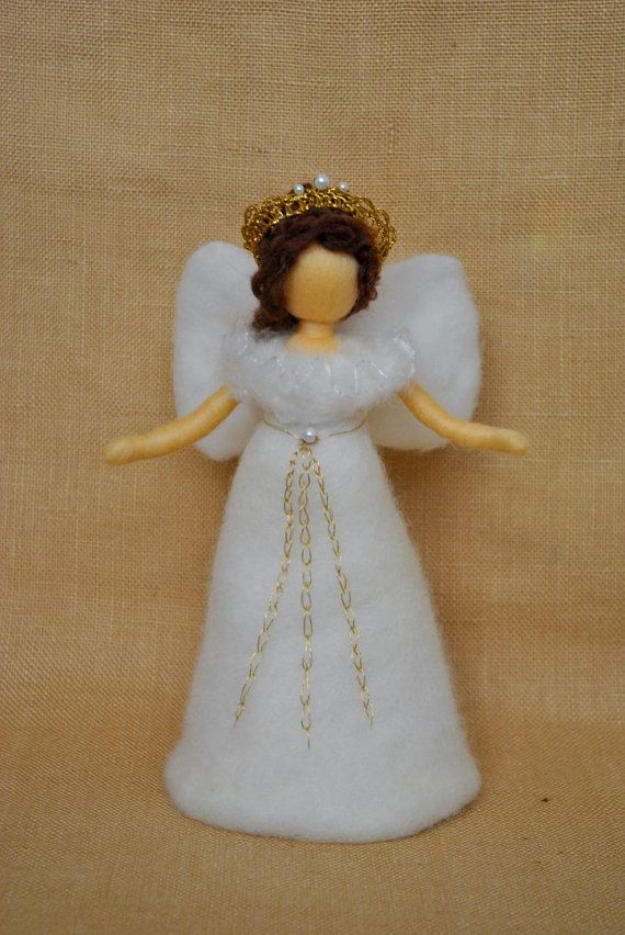 Ready to Ship Christmas Tree Topper Waldorf Inspired ...