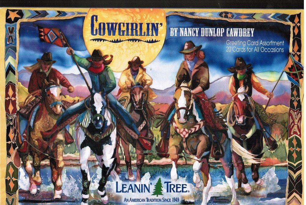 Cowgirlin greeting card assortment from leanin tree leanin tree cowgirlin greeting card assortment from leanin tree m4hsunfo