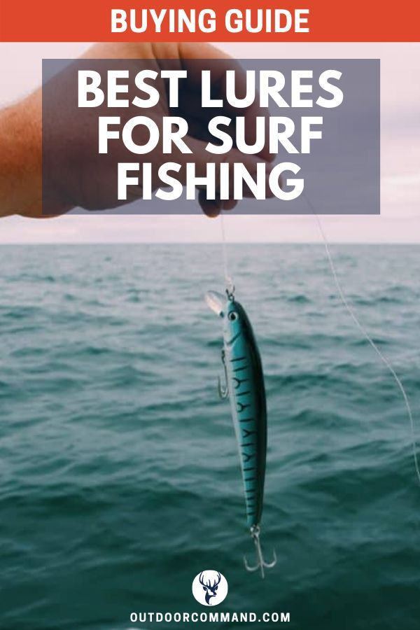 5 Best Saltwater Lures For Surf Fishing (Buying Guide) | Outdoor Command