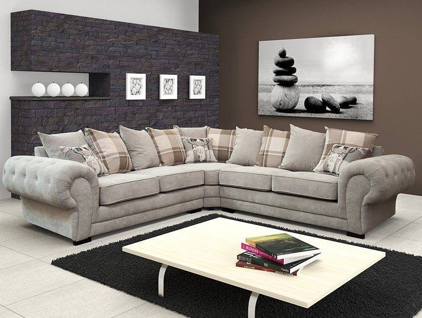 Luxury Large Verona Corner Sofa Or 32 599 Sofachesterfield Sofa Cornersofa Homedecor Home Sale Modern Modernliv Corner Sofa Fabric Corner Sofa Furniture