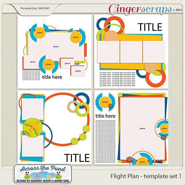 FlightPlan - Templates 1 {Collabs and Duos} Pinterest - flight plan template