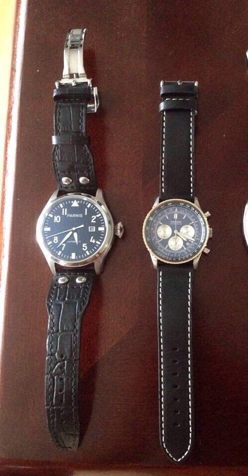 Parnis Pilot Navitimer Homage Watches Us Seller 3 Watches Jon