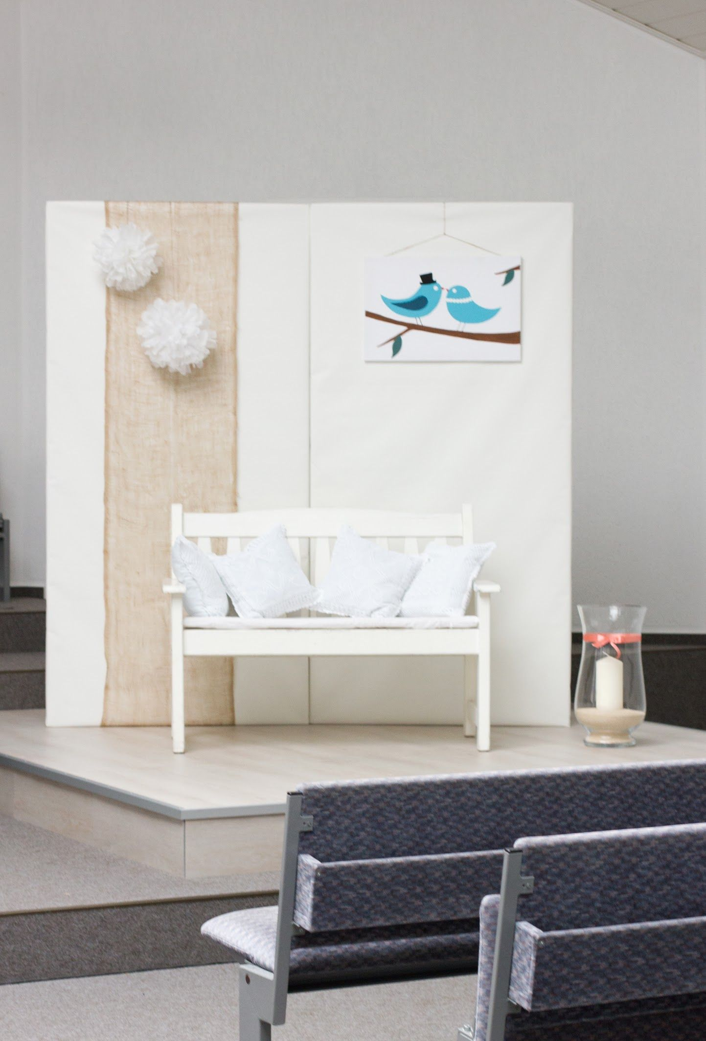 hintergrund wand f r das brautpaar meine hochzeit pinterest brautpaar hochzeit. Black Bedroom Furniture Sets. Home Design Ideas