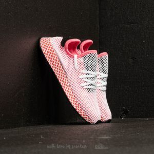 adidas deerupt runner w gesso rosa / gesso rosa / audace arancione