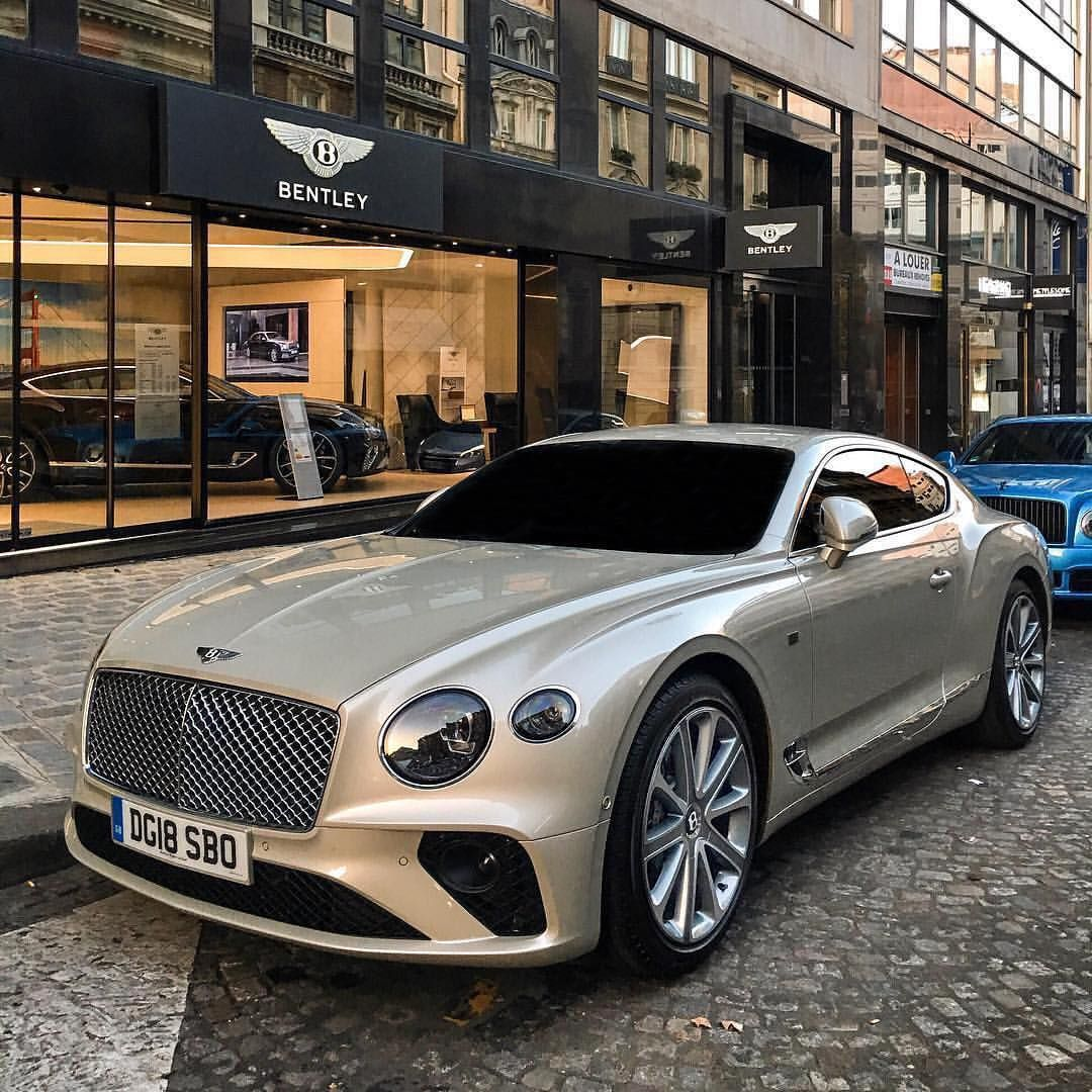 New Bentley Continental Gt In White Sand Via Mateo R Photography