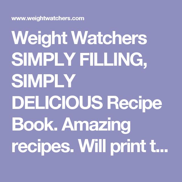 Weight Watchers Power Foods Recipe Book