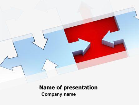 wwwpptstar powerpoint template destination-puzzle - puzzle powerpoint template