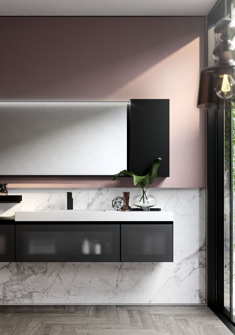 Ideagroup Arredo Bagno Presents Its Revamped Cubik Collection To