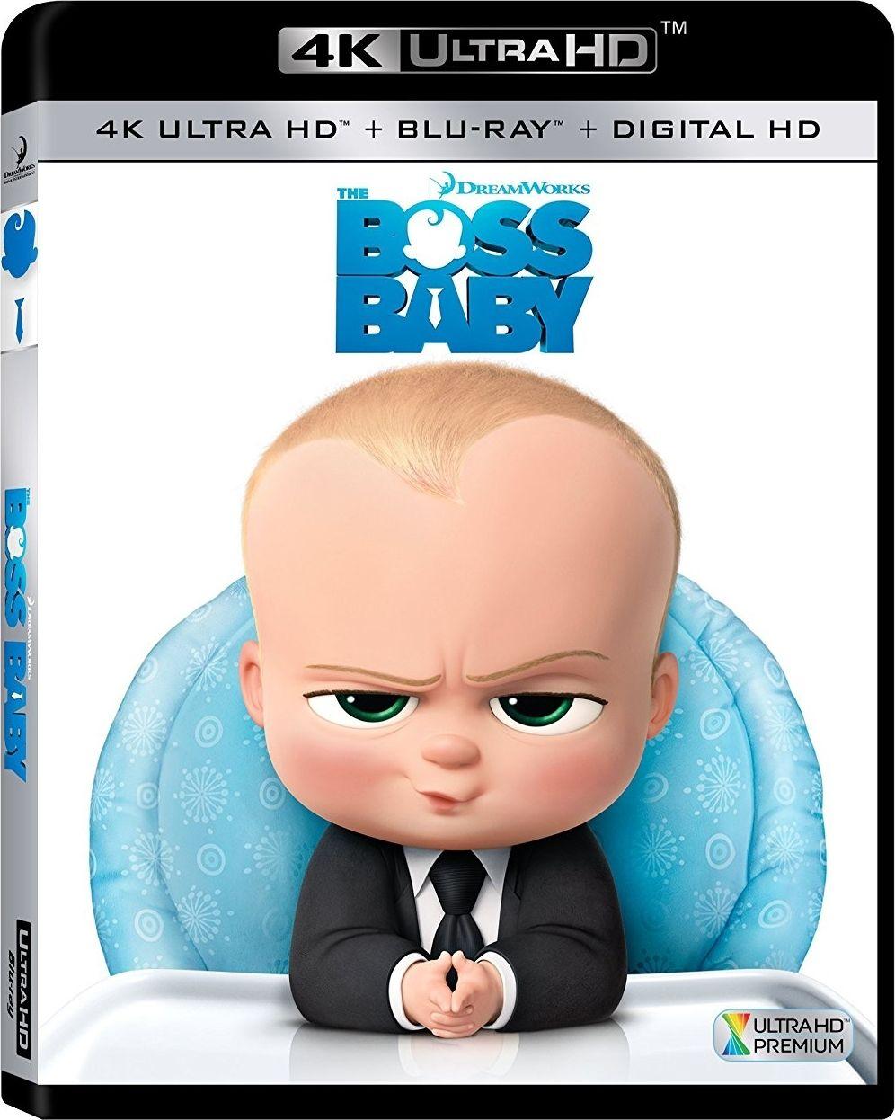 The Boss Baby 4k 2017 Uhd Ultra Hd Blu Ray Baby Movie