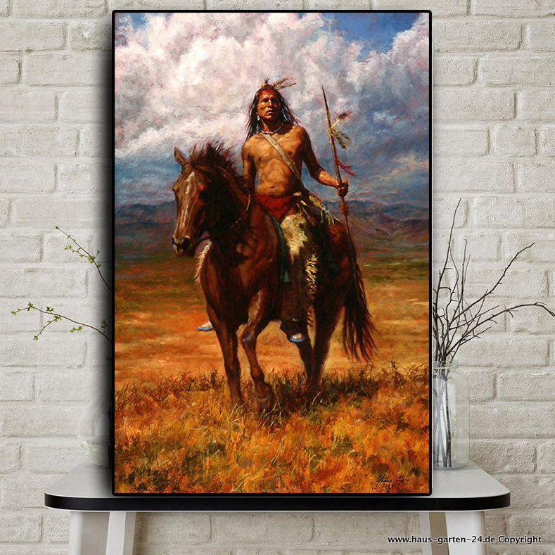 wohnzimmer dekoration indian landschaft olgemalde auf leinwand poster haus und garten gu gemalde foto dreiteilig 30x20
