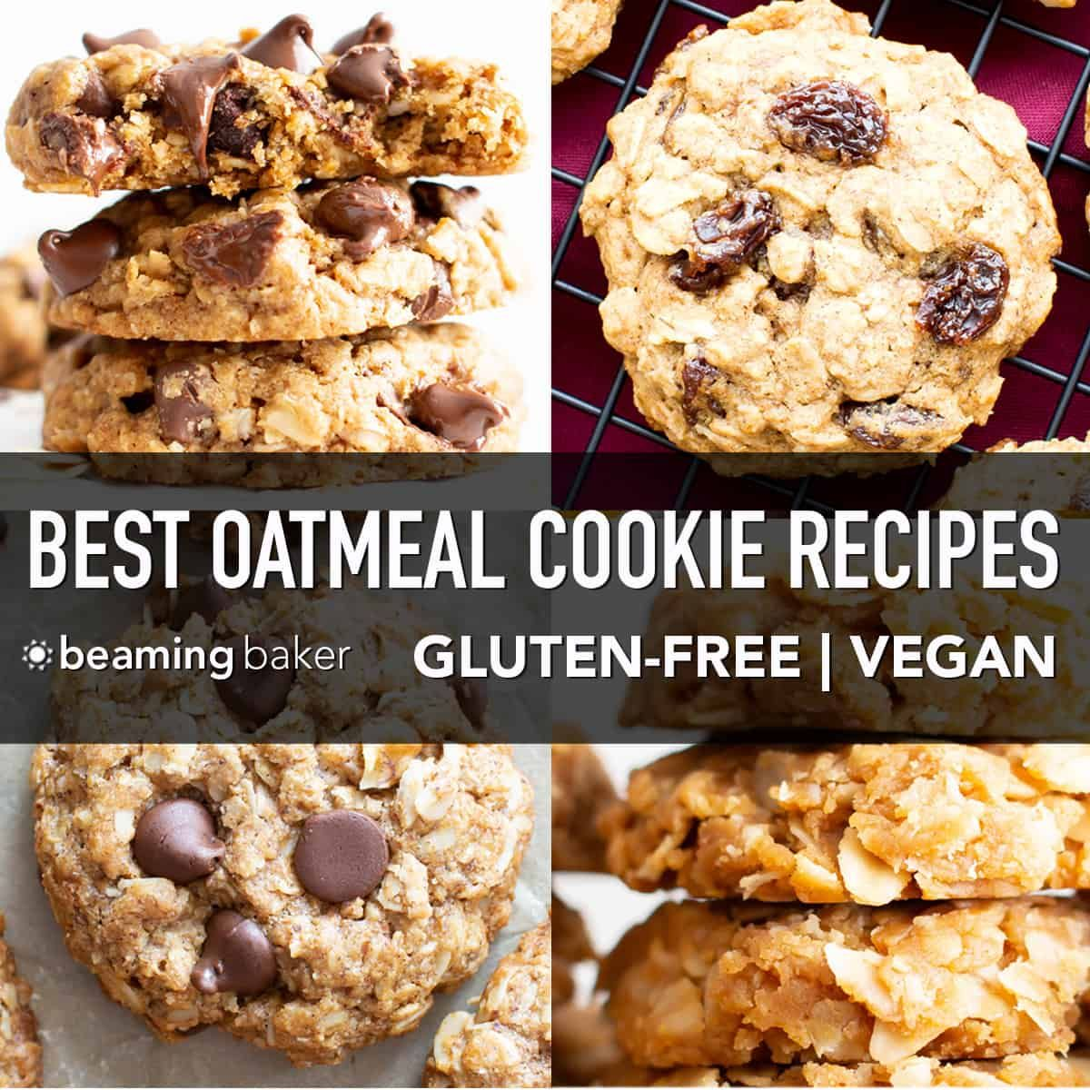 The Ultimate Collection Of The Best Vegan Oatmeal Cookies