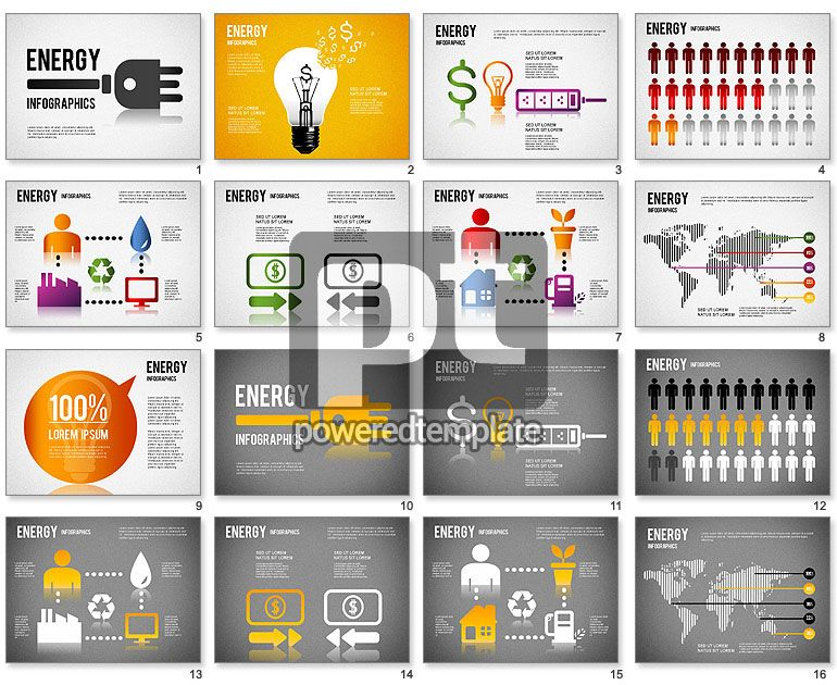 Energy Infographics For Powerpoint For Powerpoint Presentations