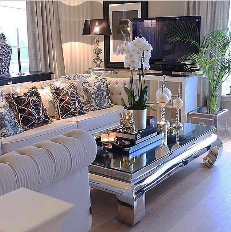 white and silver classic glossy living room rooms i like in 2019 rh pinterest com