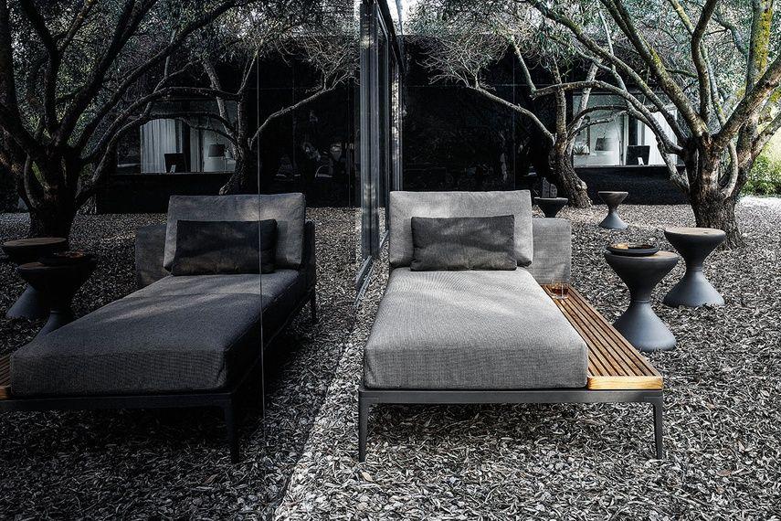 Grid modular outdoor sofa Terras Pinterest Exterior design - designer gartensofa indoor outdoor