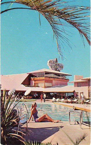 Wilbur Clarks Desert Inn Las Vegas Nv Desert Inn Las Vegas Old Vegas Poolside