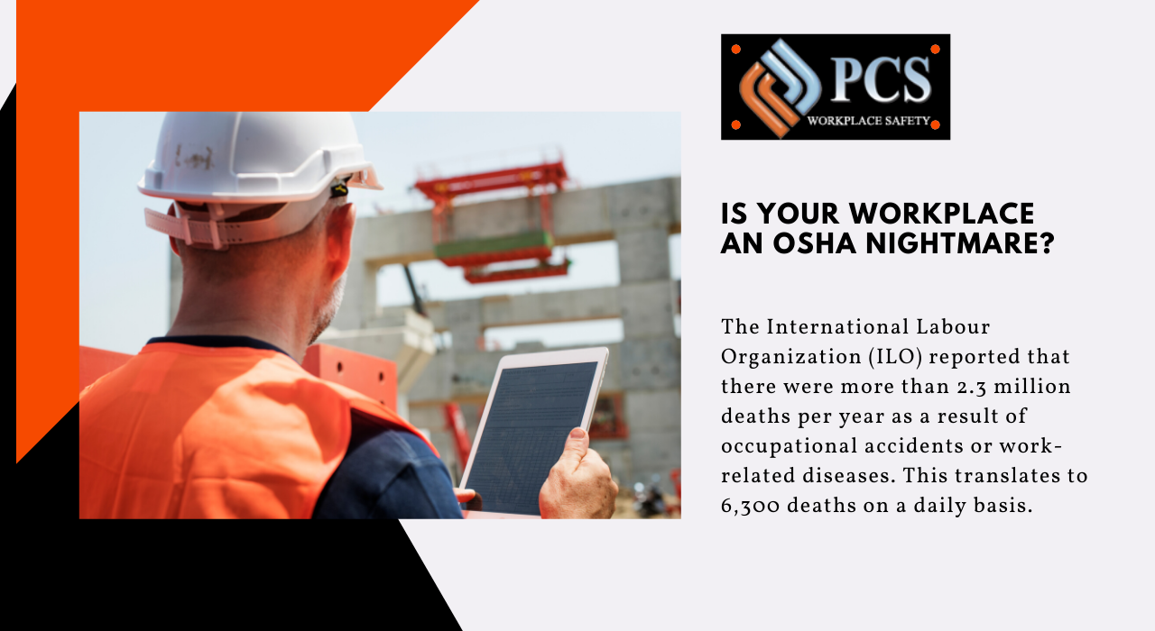 Workplace Safety and Prevention Plan, OSHA in 2020
