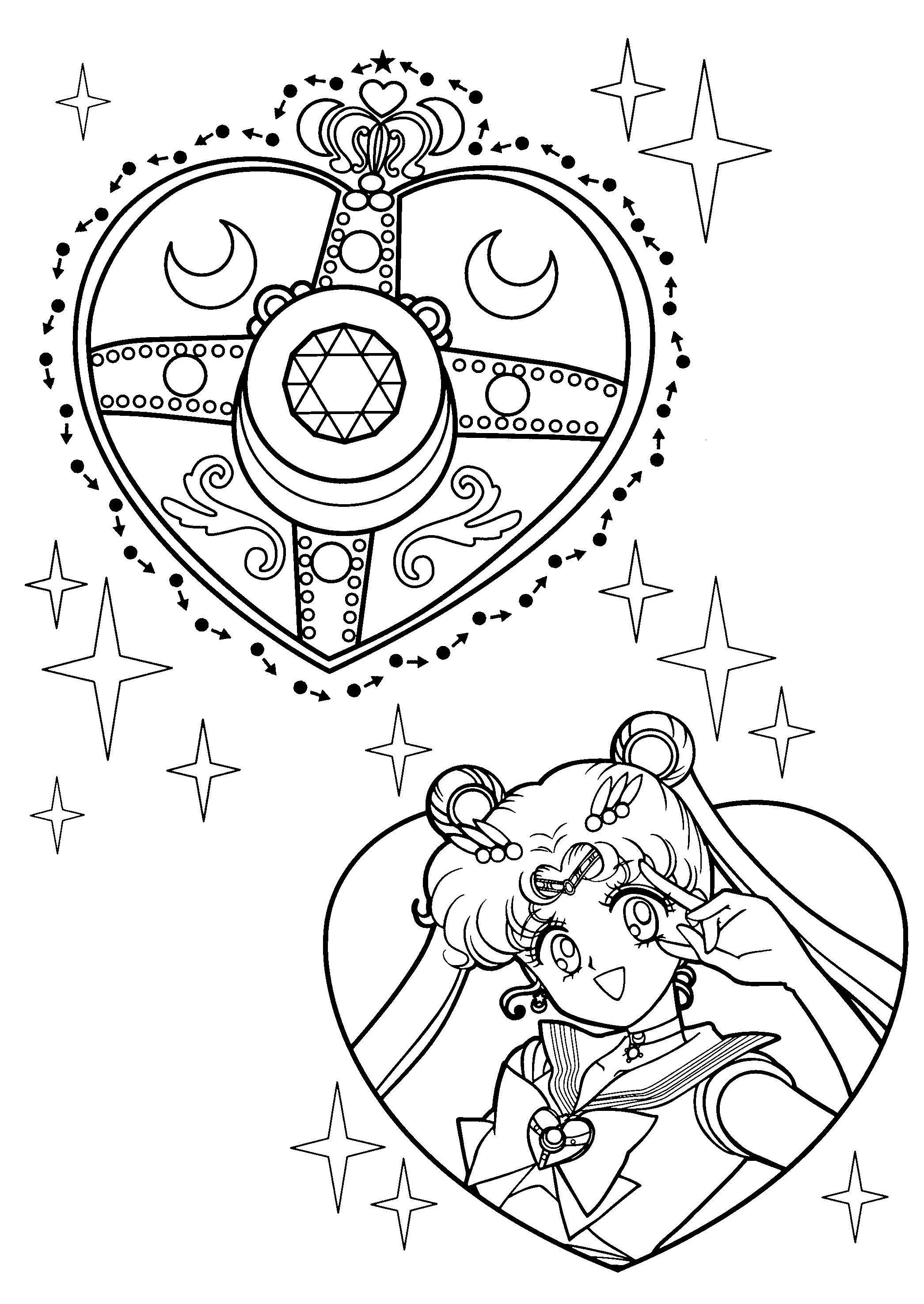 Medalh O Navegante Da Lua Navegante Da Lua Sailor Moon Sailor
