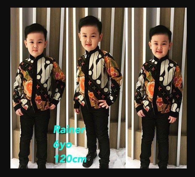 Baju Batik Anak Muslim: Model Baju Batik Muslim Modern Untuk Anak Laki Laki