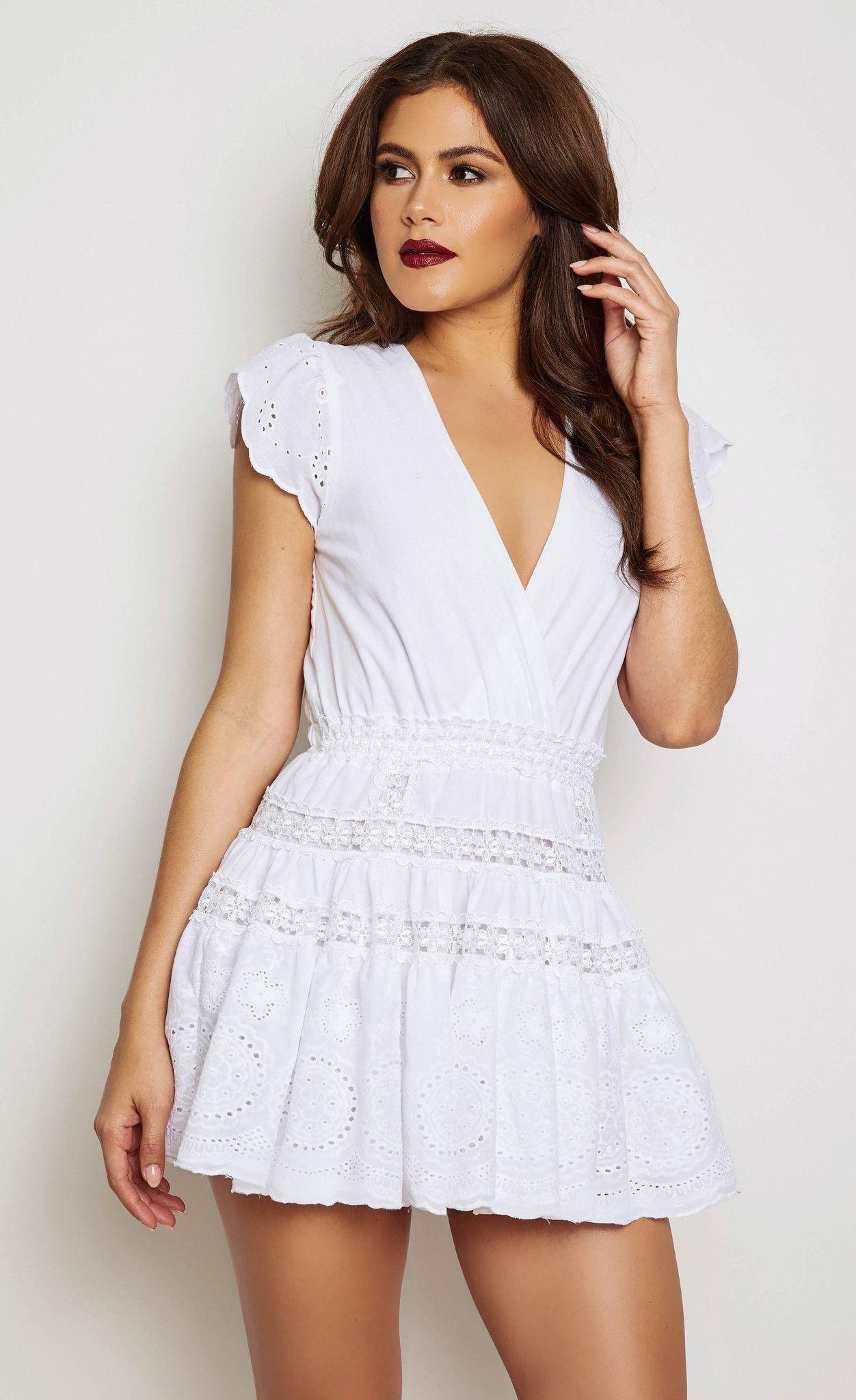 CATTLEYA  EMBROIDERED DRESS