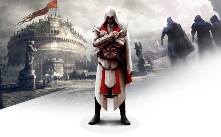 Assassins Creed Hd Wallpaper Desktop Background Assassin S Creed Brotherhood Assassin S Creed Assassins Creed Assassin creed hd wallpaper