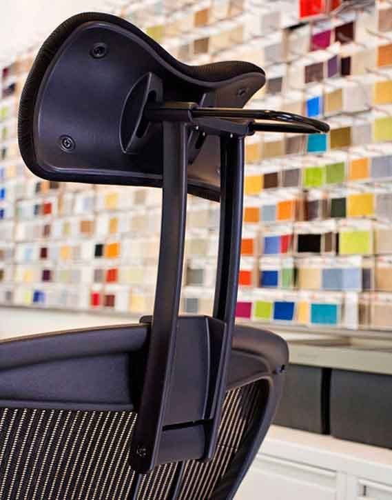 Superb Atlas Headrest For The Herman Miller Aeron Chair Colors And Fabrics