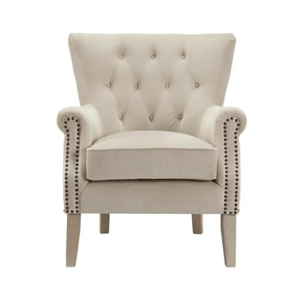 Dorel Tilda Beige Accent Chair Fh7563 Bg In 2020 Beige Accent Chair