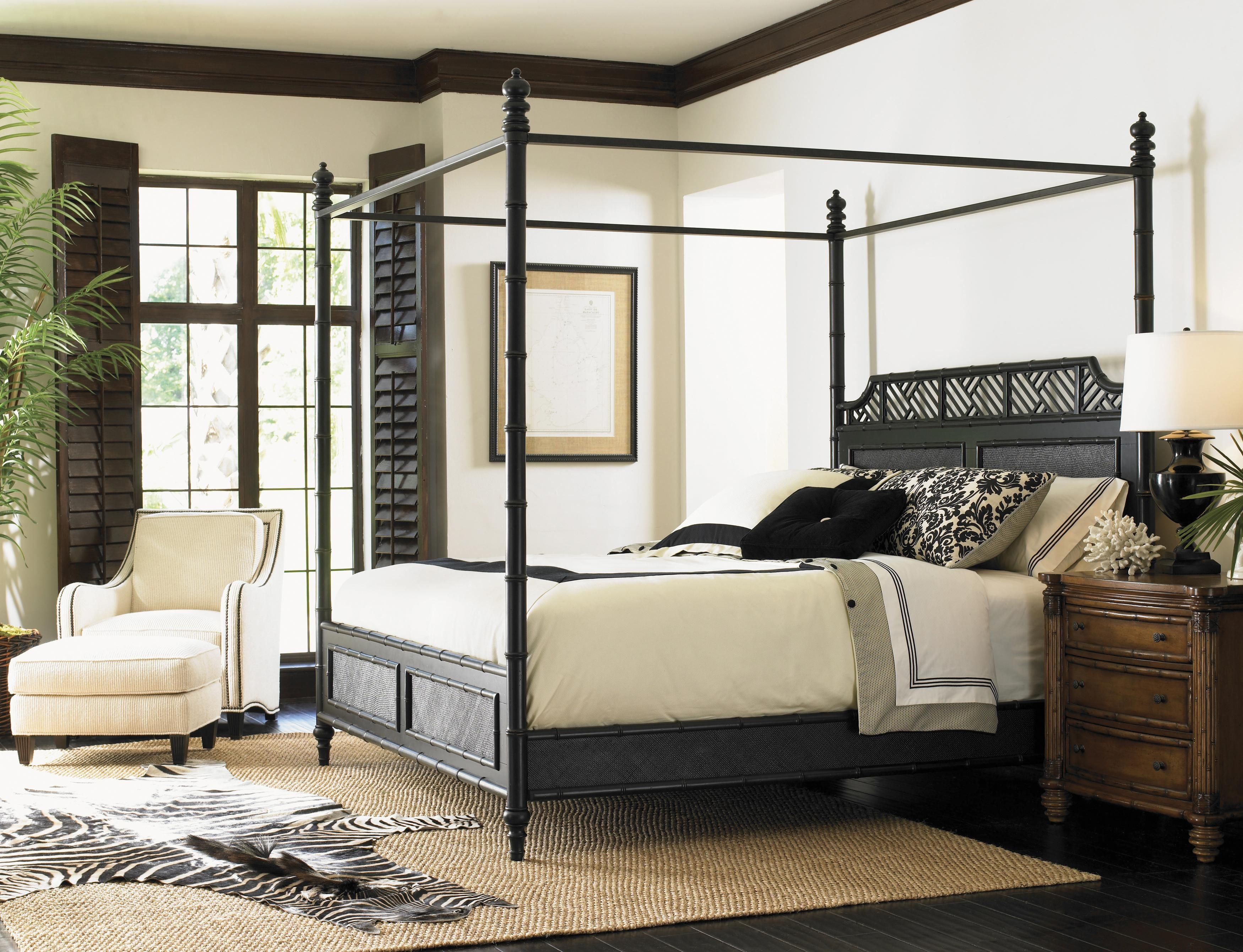 West Indies Canopy Bed Transform your bedroom into a