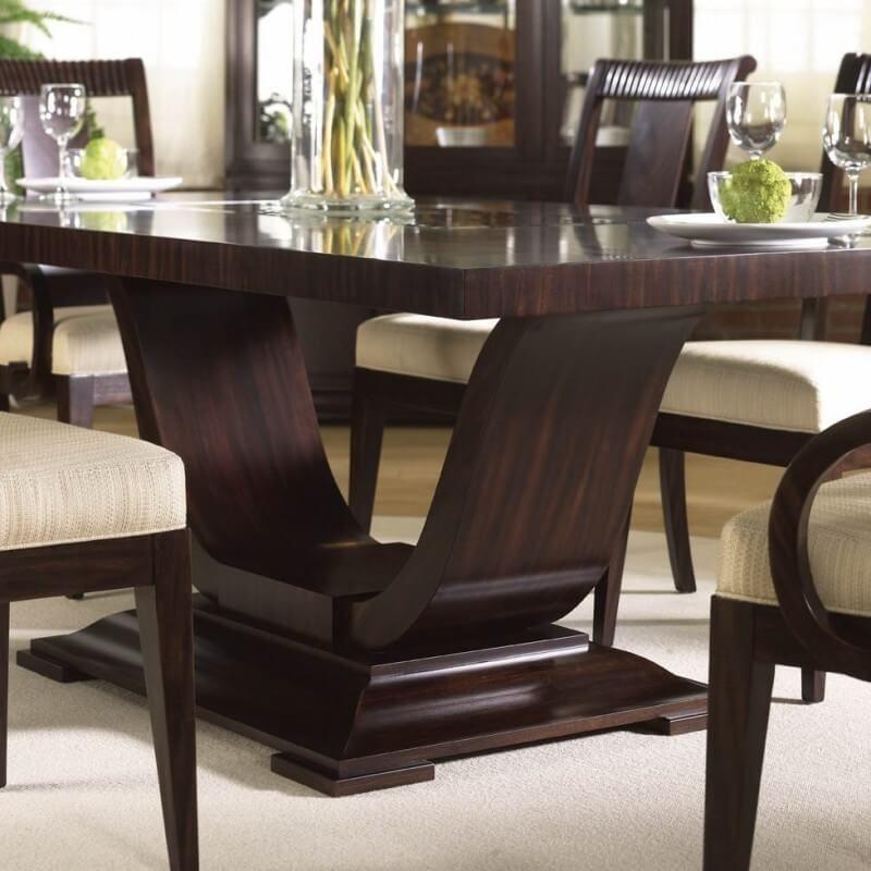 Buy Online Art Deco Rectangular Dining Table Australia