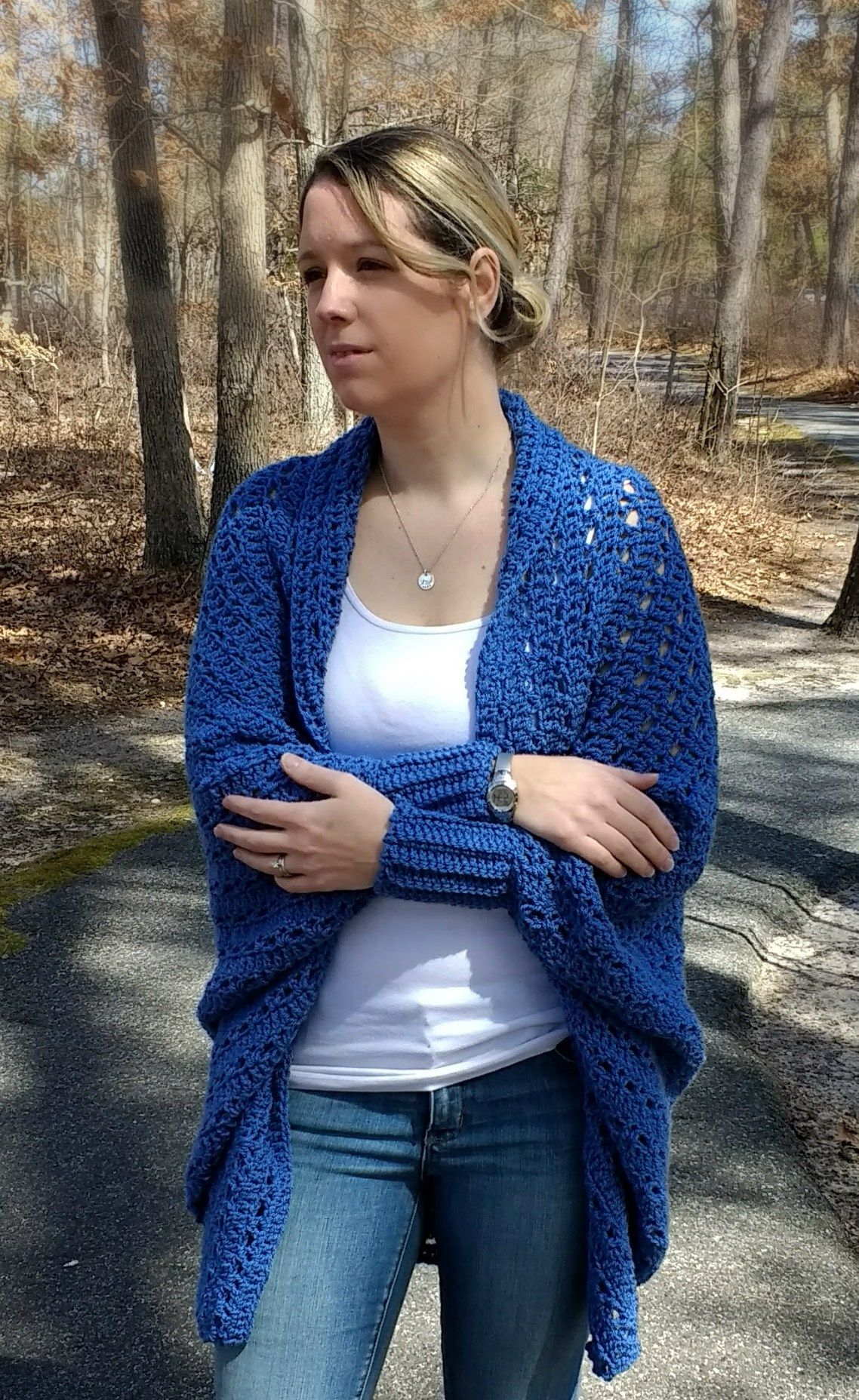 f7b632dc7bbf0c Read my full review on Crafty s kit of the Carleton Cocoon Sweater by Right  Brain Crochet.