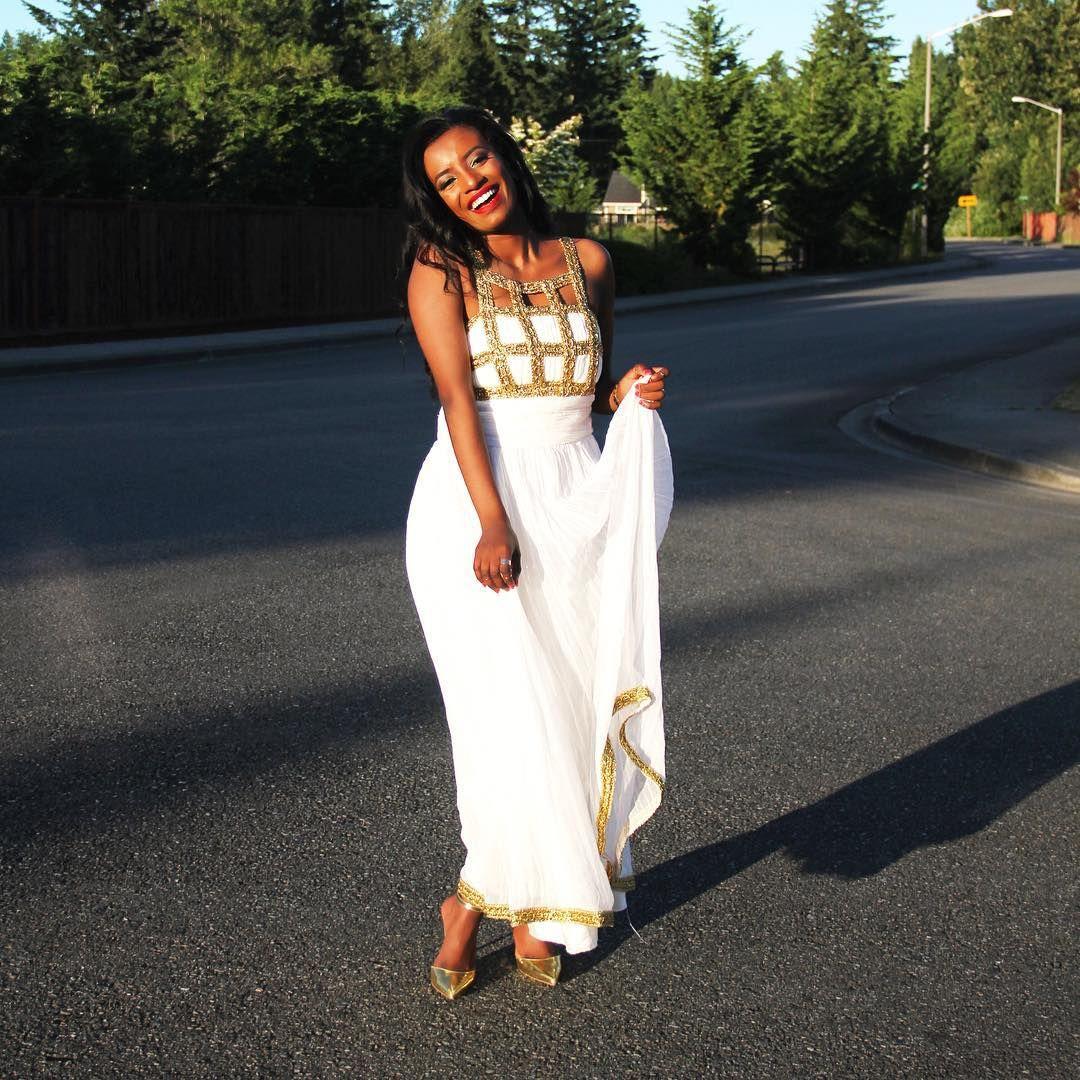 Habesha kemis zuria 1 more on the blog graduation for Habesha dress for wedding