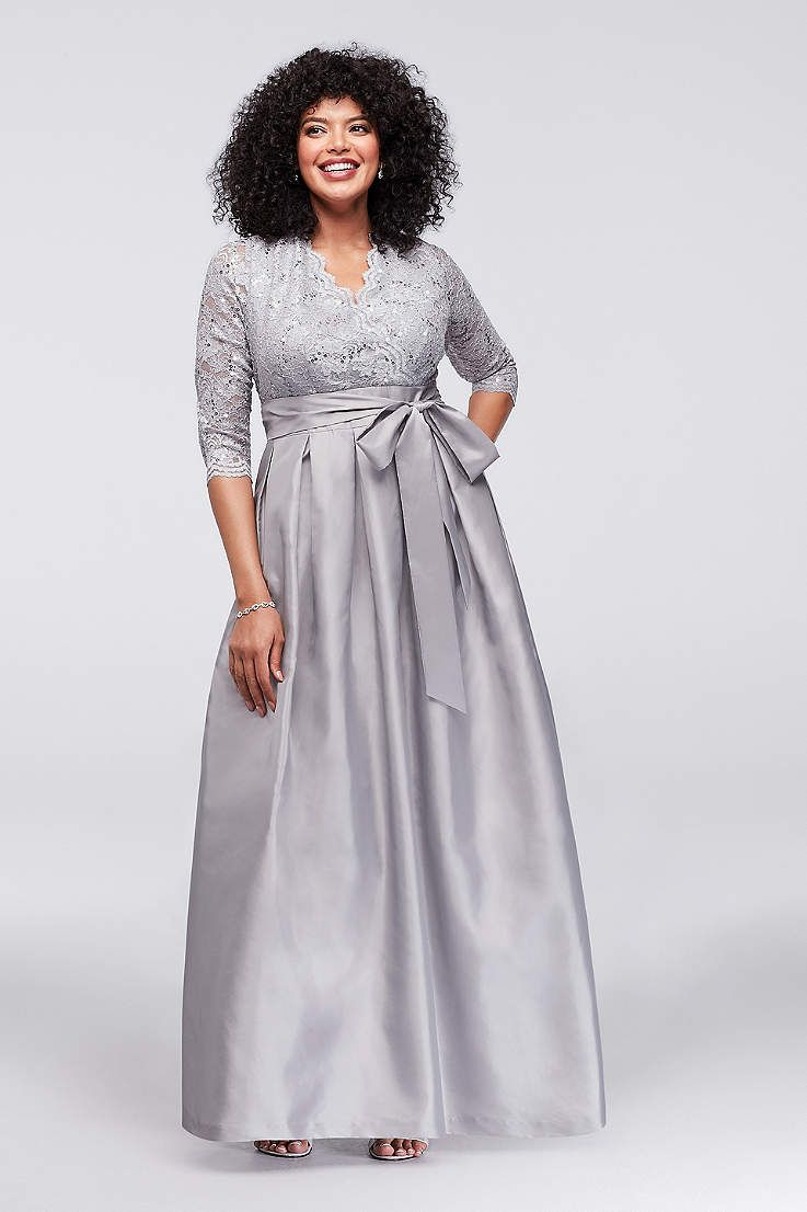 ab5ab81e Long Ballgown 3/4 Sleeves Formal Dresses Dress - Jessica Howard ...