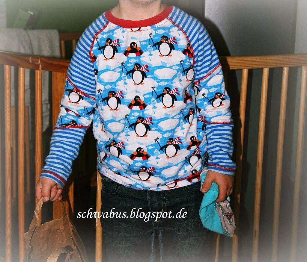Schnitt #Henric von #ki-ba-doo Stoff: #Pinguine von #Lillestoff #enemenemeins