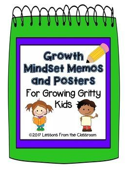 Back to School Freebie! Growth Mindset Memos and Posters ...