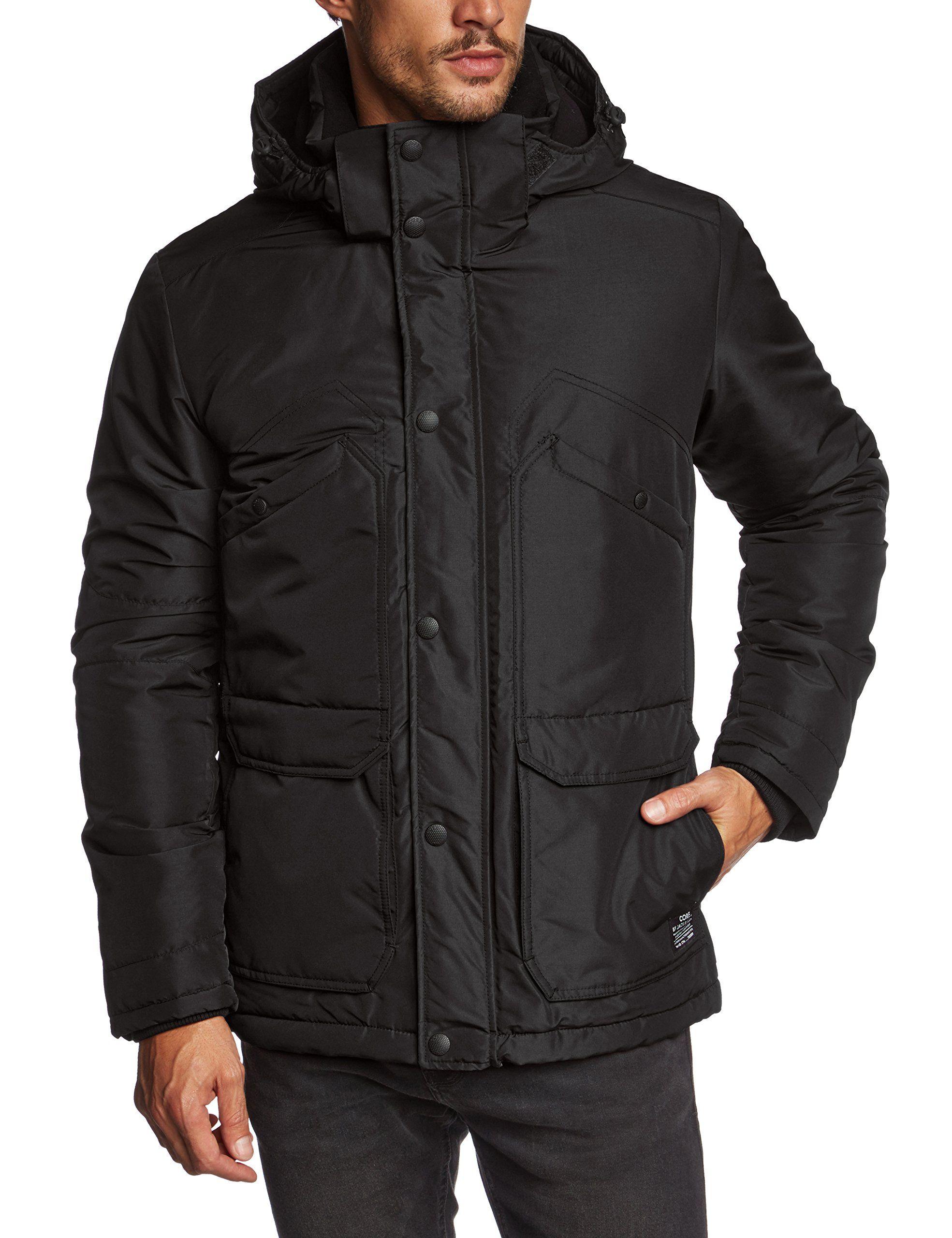 Jack And Jones Men Hale Short Parka Jacket Amazon Co Uk Clothing