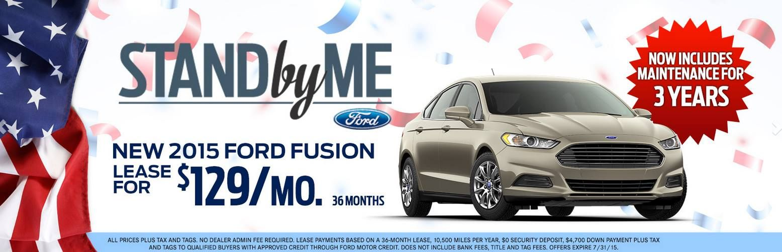New 2015 Ford Fusion Lease For 129 Month Http Www