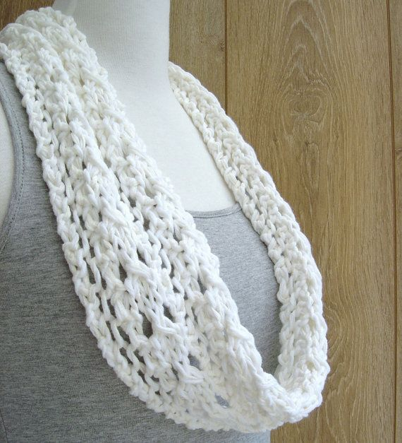 Simple Lace Scarf KNITTING PATTERN easy Knit by Richmondhillknits ...